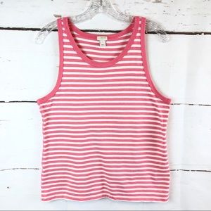 J. Crew | Striped Tank, Size L